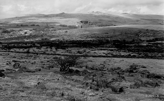Merrivale. From Dartmoor Way. Dartmoor