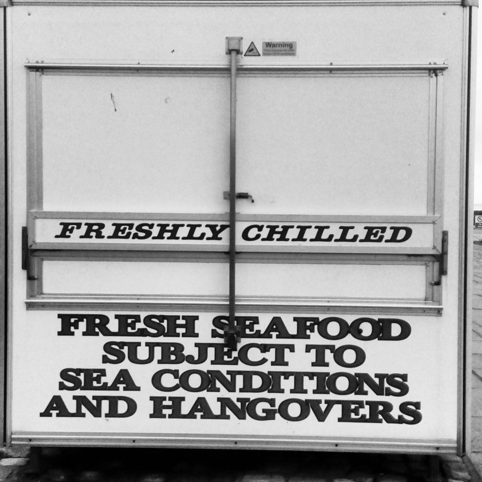 Food subject to hangover. Folkestone.